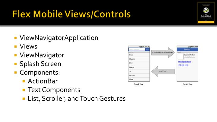 Flex Mobile Views/Controls