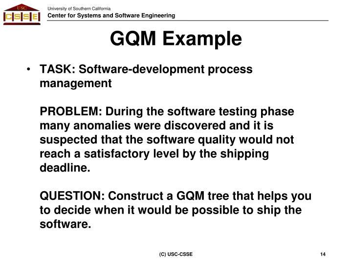 GQM Example