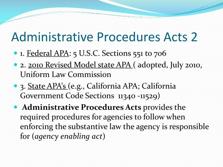 an overview of administrative agencies The history and danger of administrative law administrative acts by executive agencies are a way of driving off-road, exercising power through other pathways.