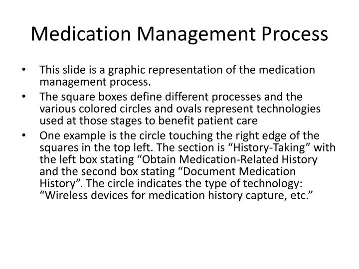 Medication Management Process