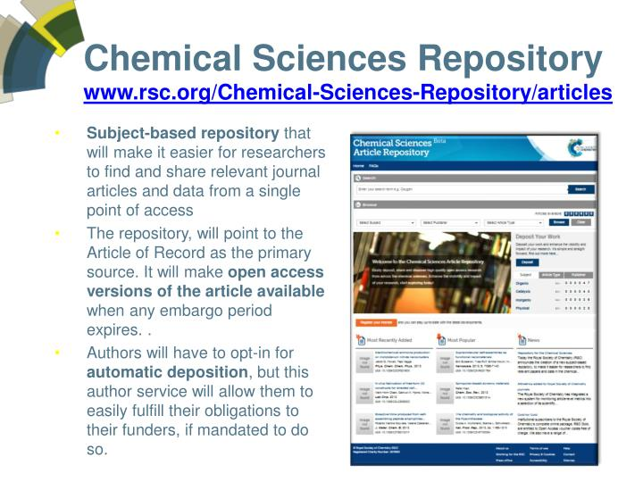 Chemical Sciences Repository
