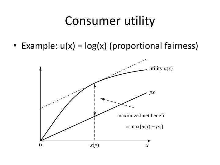 Consumer utility