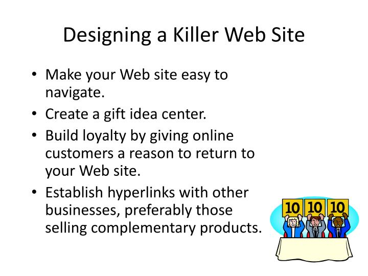 Designing a Killer Web Site