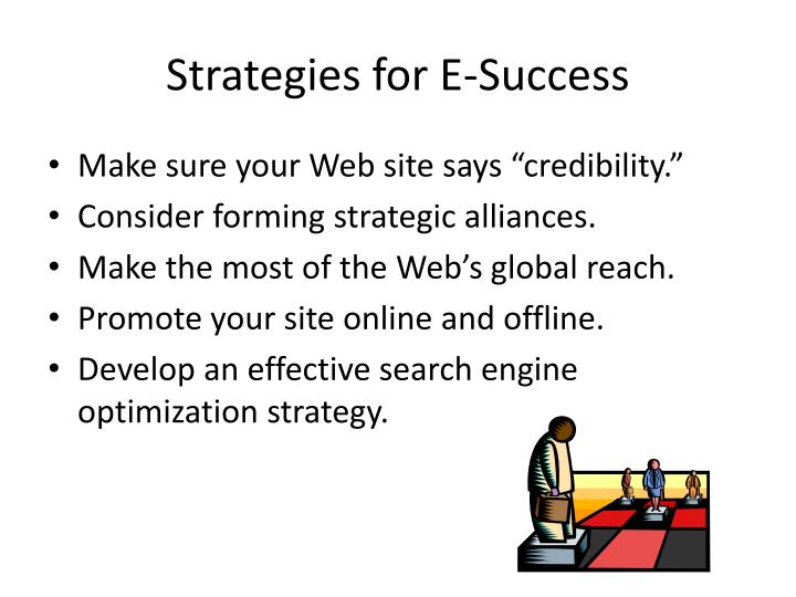 Strategies for E-Success
