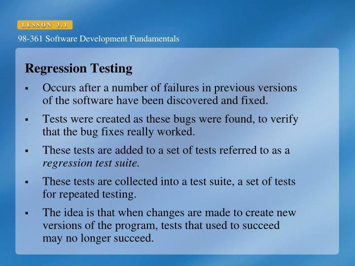 Regression Testing