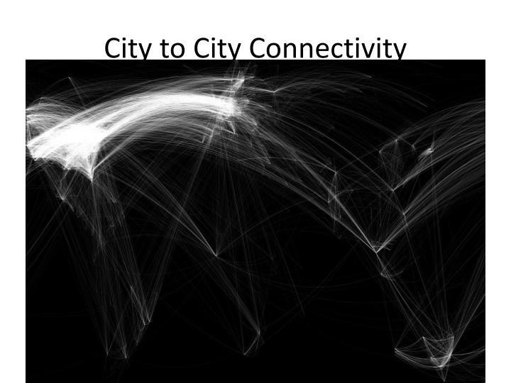 City to City Connectivity