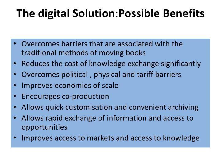 The digital Solution