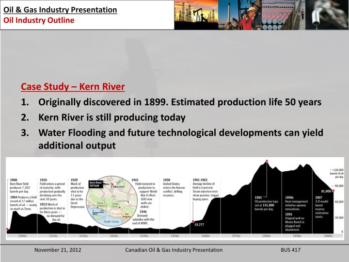 Case Study – Kern River