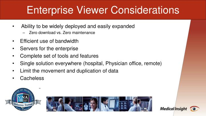 Enterprise Viewer Considerations