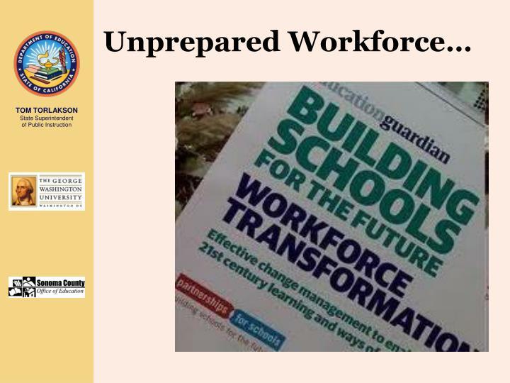 Unprepared Workforce…