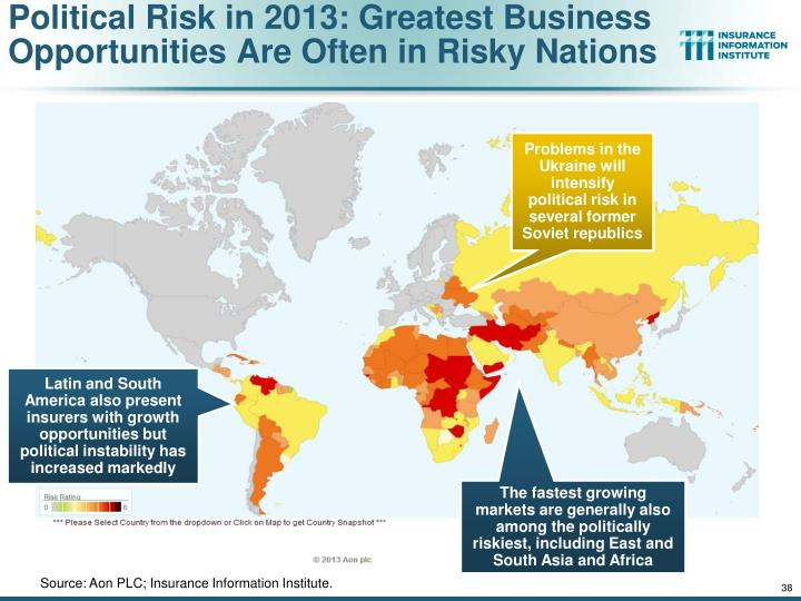 Political Risk in 2013: Greatest Business Opportunities Are Often in Risky Nations