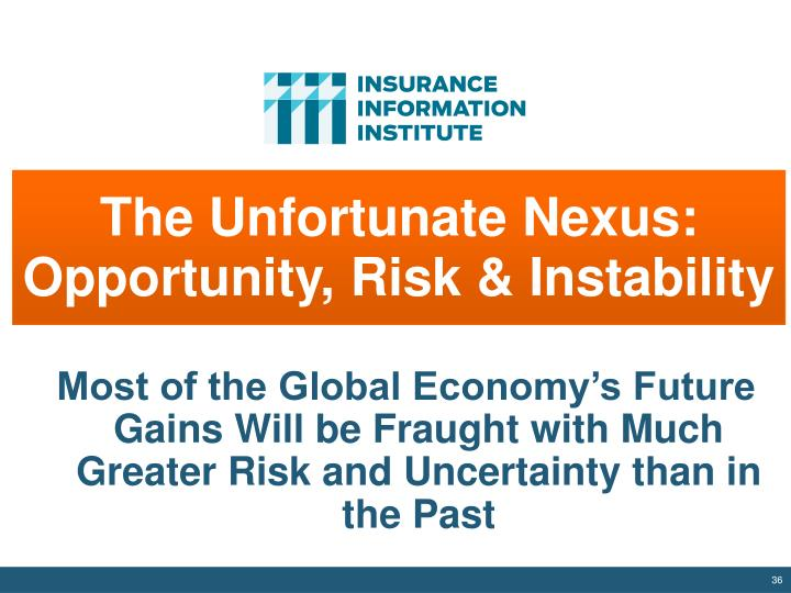 The Unfortunate Nexus: Opportunity, Risk & Instability