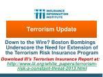 terrorism update