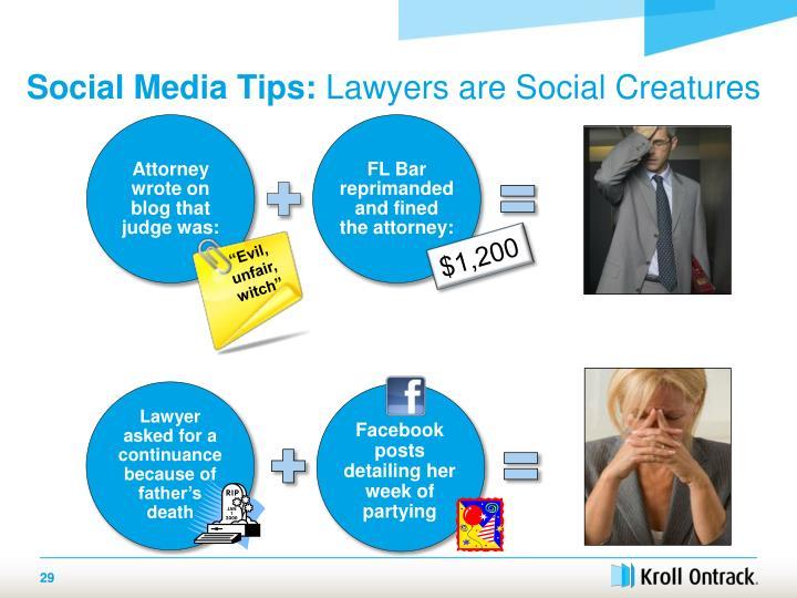 Social Media Tips: