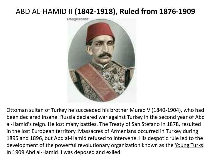 ABD AL-HAMID II