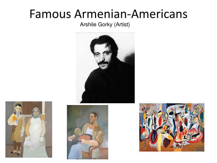 Famous Armenian-Americans