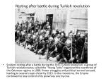 resting after battle during turkish revolution