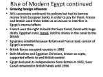 rise of modern egypt continued1