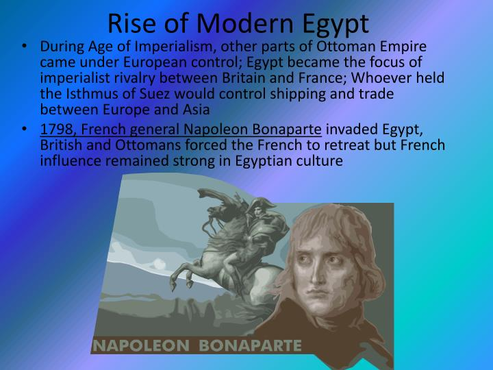 Rise of Modern Egypt