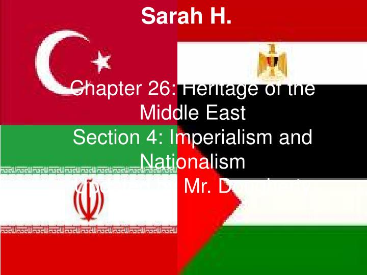 Chapter 26: Heritage of the Middle East