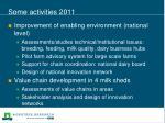 some activities 2011