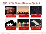 frs 102 the financial reporting standard