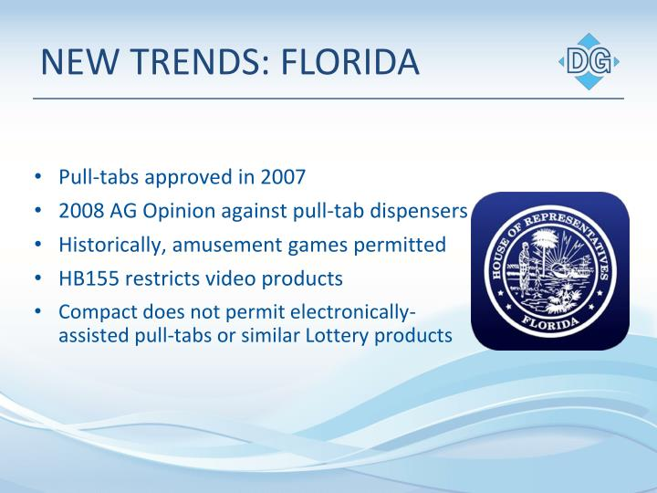 NEW TRENDS: FLORIDA