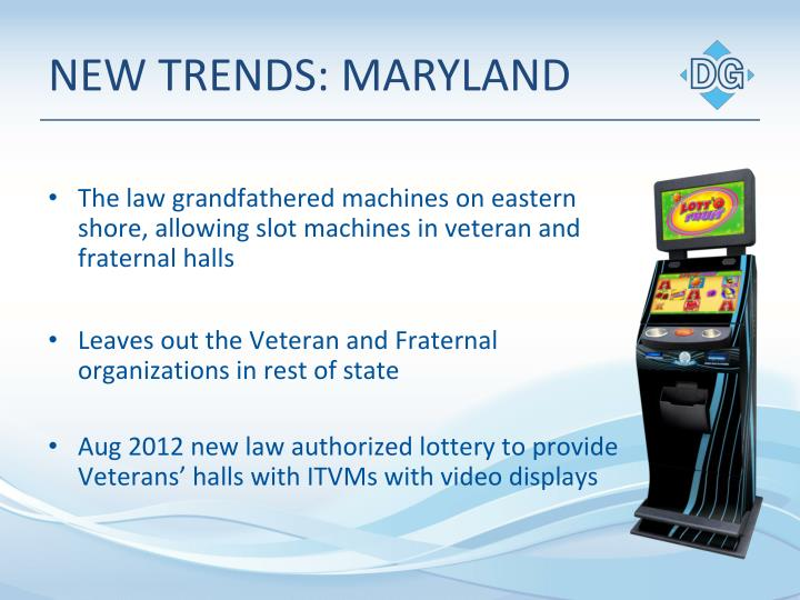 NEW TRENDS: MARYLAND