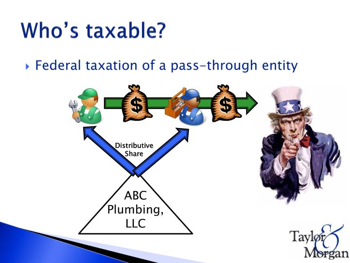 Who's taxable?