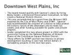 downtown west plains inc1