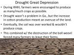drought great depression