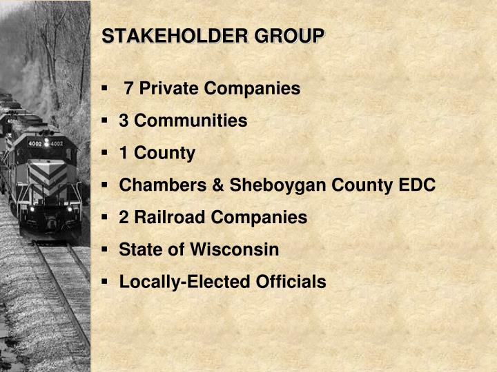 STAKEHOLDER GROUP