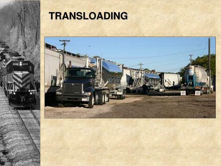 TRANSLOADING