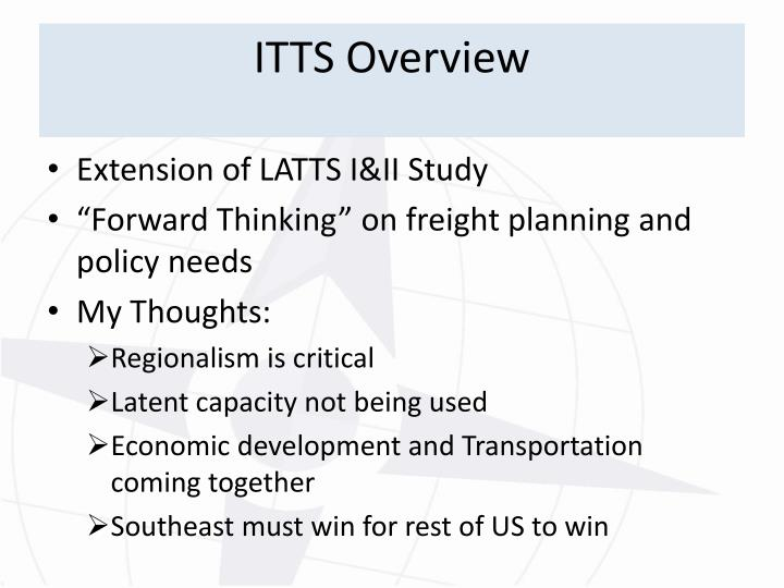 ITTS Overview
