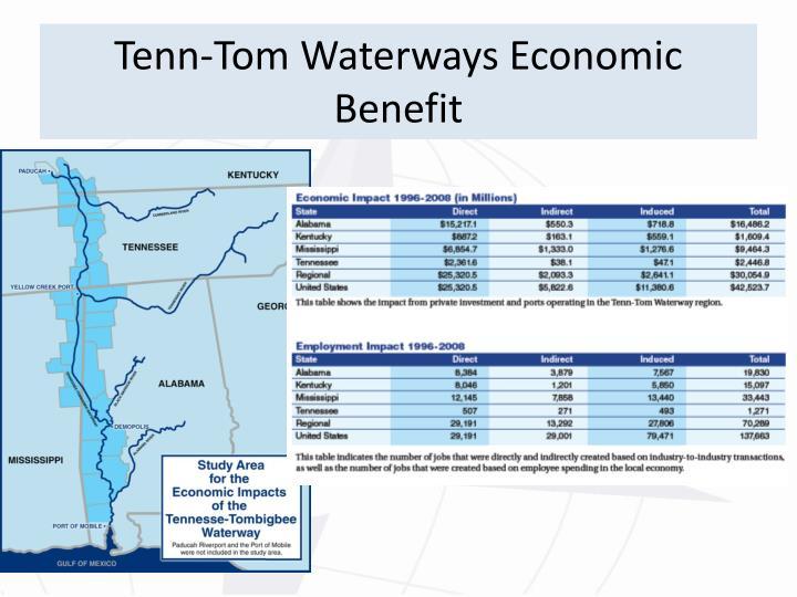 Tenn-Tom Waterways Economic Benefit