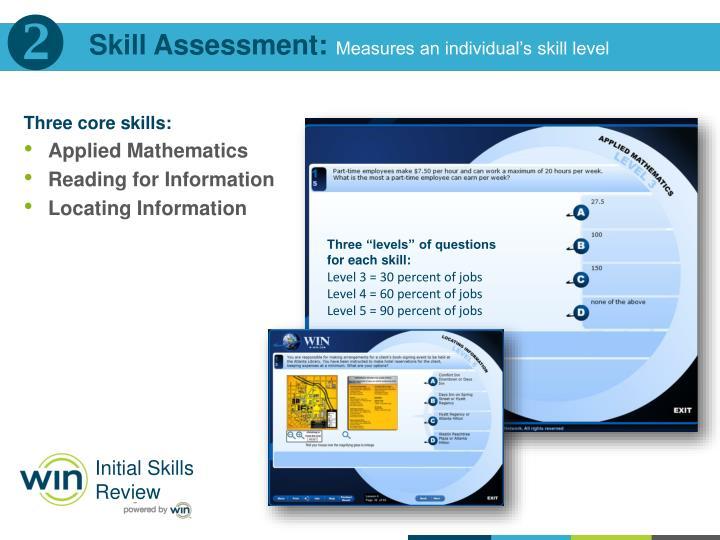 Skill Assessment: