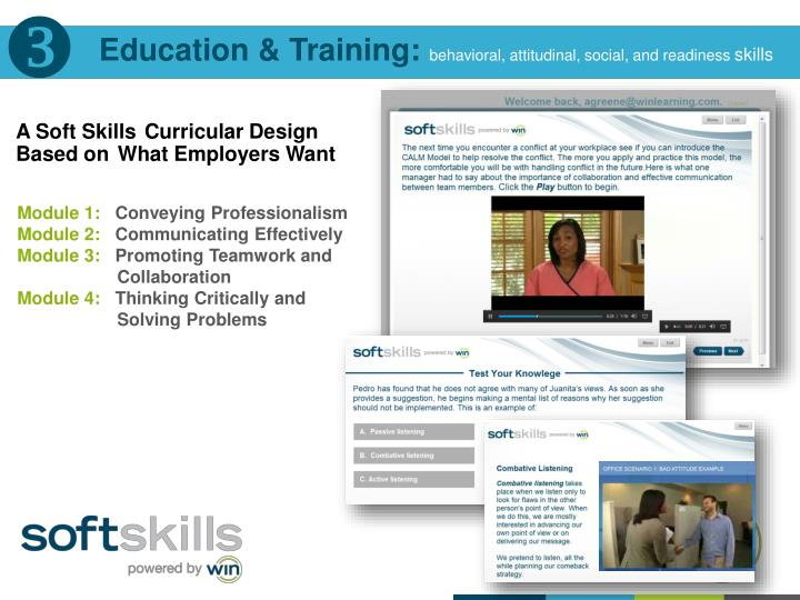 Education & Training:
