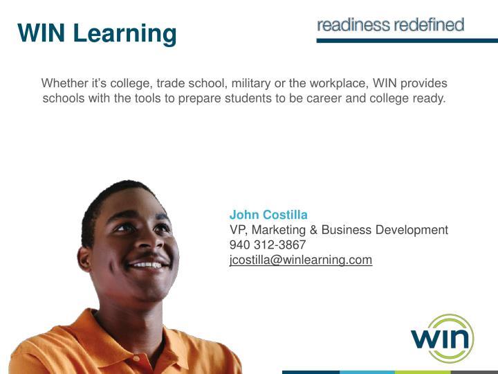 WIN Learning