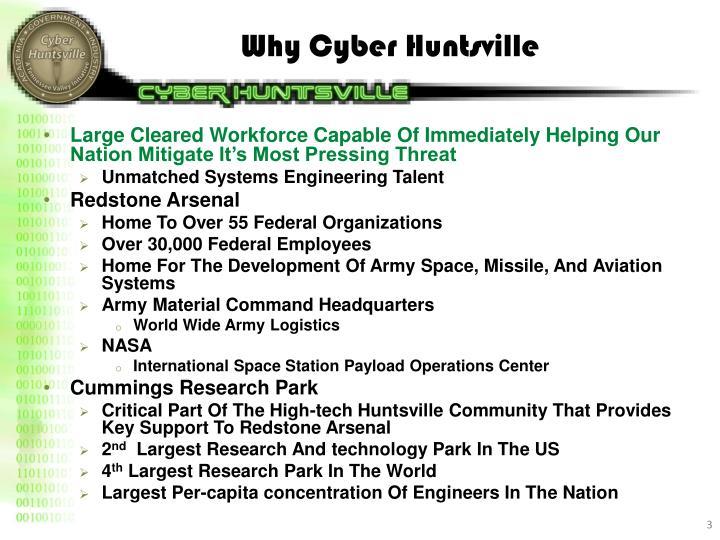Why Cyber Huntsville