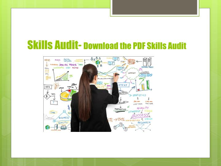 Skills Audit-