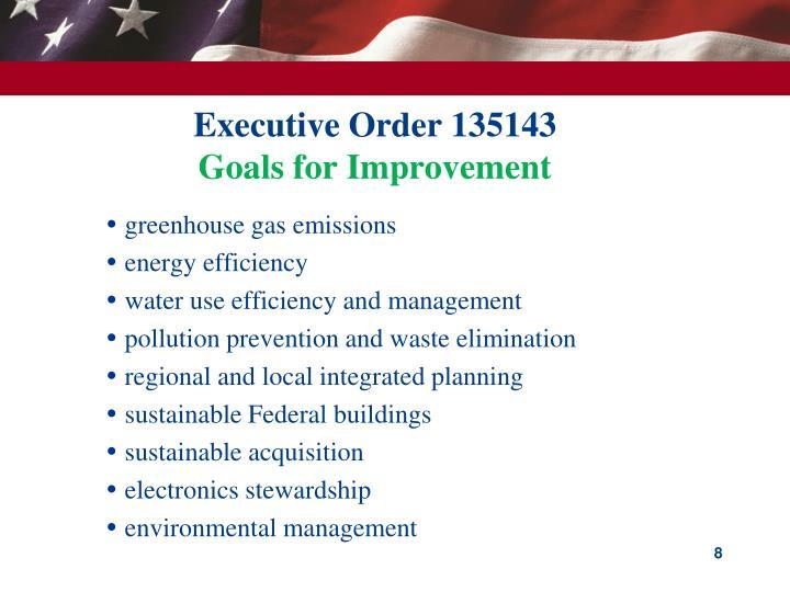 Executive Order 135143