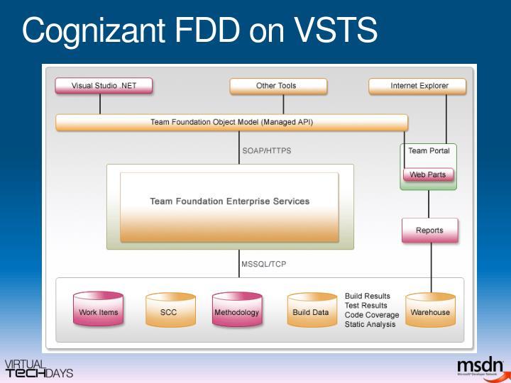 Cognizant FDD on VSTS