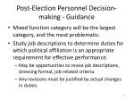 post election personnel decision making guidance3