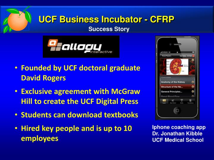 UCF Business Incubator - CFRP