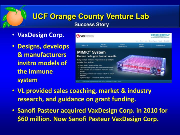 UCF Orange County Venture Lab