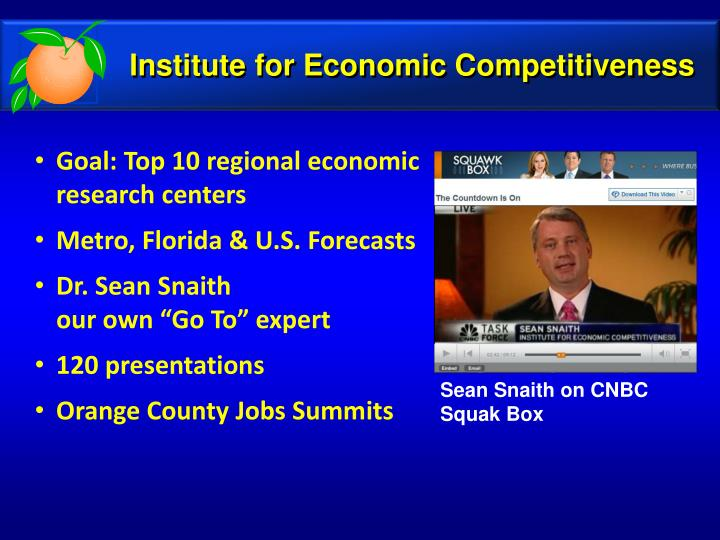 Institute for Economic Competitiveness
