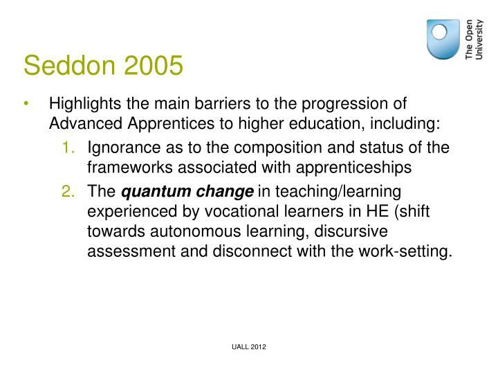 Seddon 2005