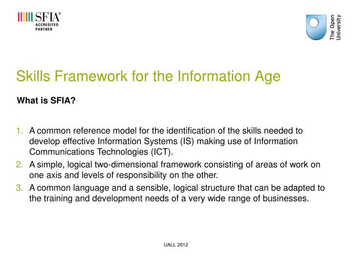Skills Framework for the Information Age