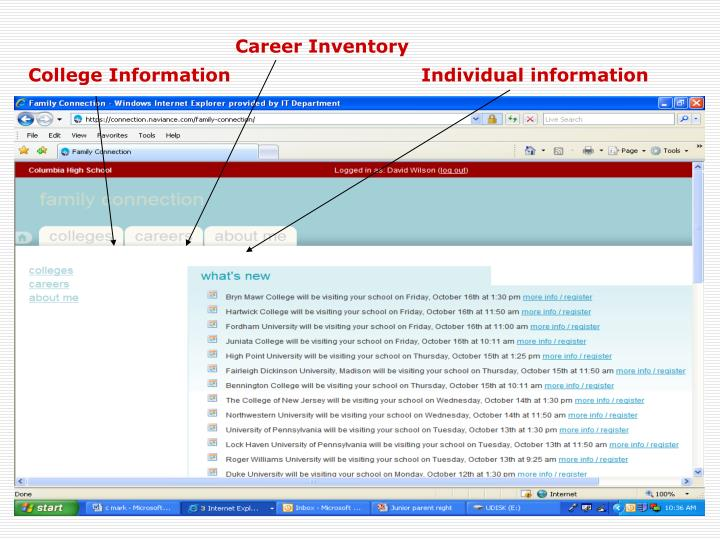 Career Inventory
