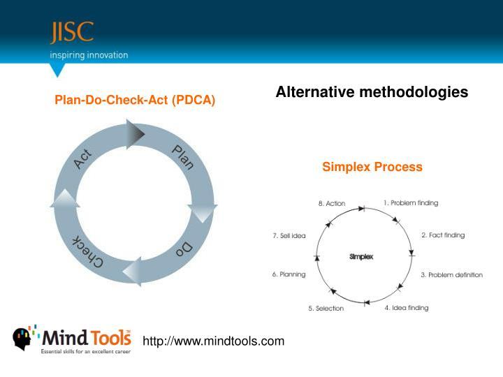 Alternative methodologies